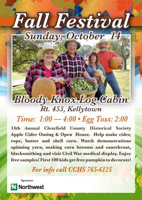 DuBois Area Historical Society, Inc. :: Bloody Knox Cabin ...